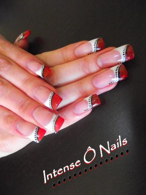 Beaune ongle beaune pose d 39 ongles esth ticienne french manucure onglerie esth tique - French manucure rouge ...